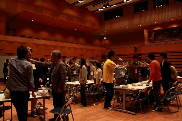 第2回コミュニケーションフォーラム北陸2012年10月 懇親会