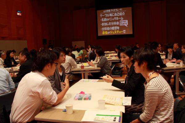第2回コミュニケーションフォーラム北陸2012年10月 ワールドカフェ